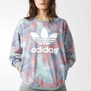Adidas Originals Pastel Crew Neck Sweatshirt